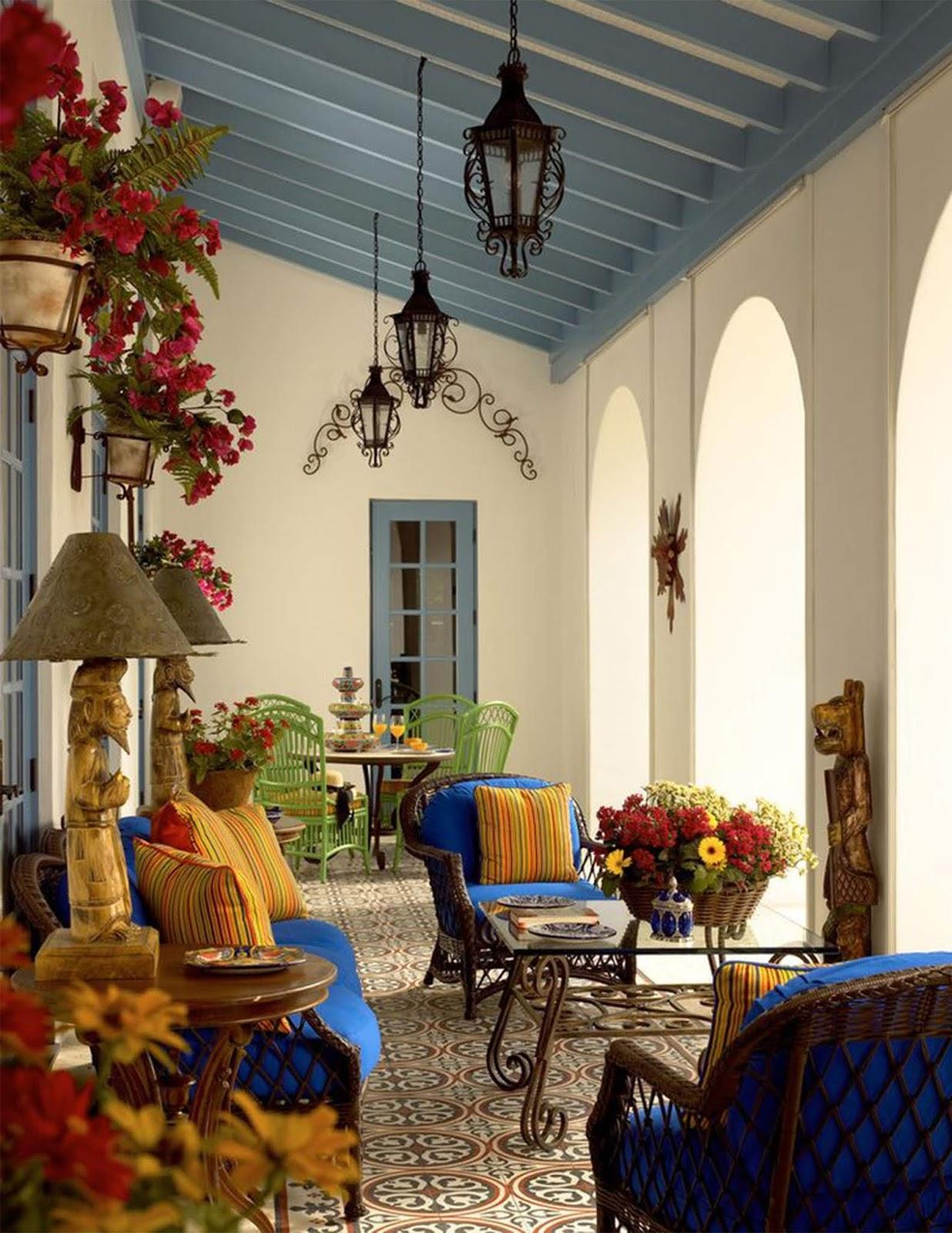 Tiểu cảnh mẫu thiết kế biệt thự đẹp phong cách Địa Trung Hải có gì đặc sắc? 1