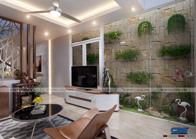 Mẫu thiết kế nhà tận dụng nội thất cũ nhưng vẫn đẹp sang 3,4m X 10m 2