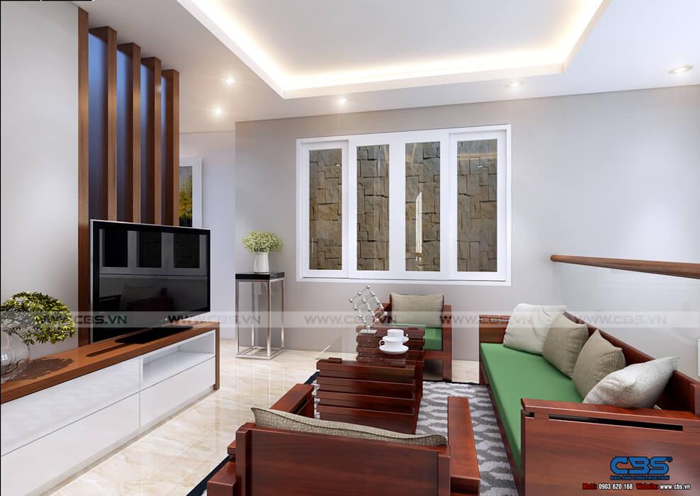 Mẫu thiết kế nhà tận dụng nội thất cũ nhưng vẫn đẹp sang 3,4m X 10m 12