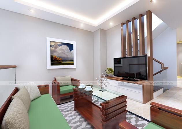 Mẫu thiết kế nhà tận dụng nội thất cũ nhưng vẫn đẹp sang 3,4m X 10m 13