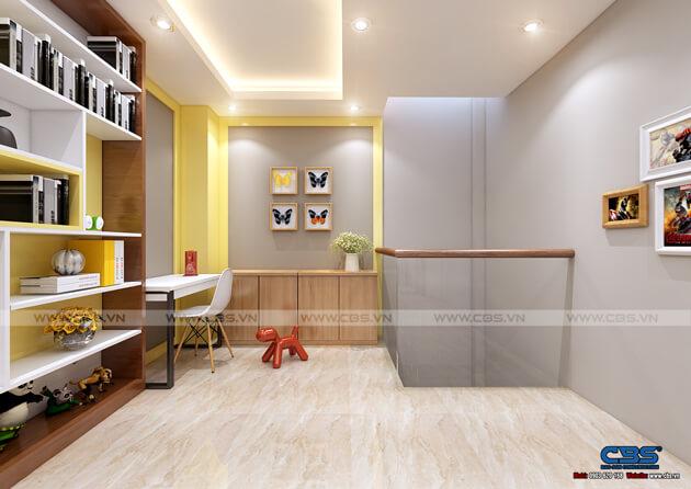 Mẫu thiết kế nhà tận dụng nội thất cũ nhưng vẫn đẹp sang 3,4m X 10m 14