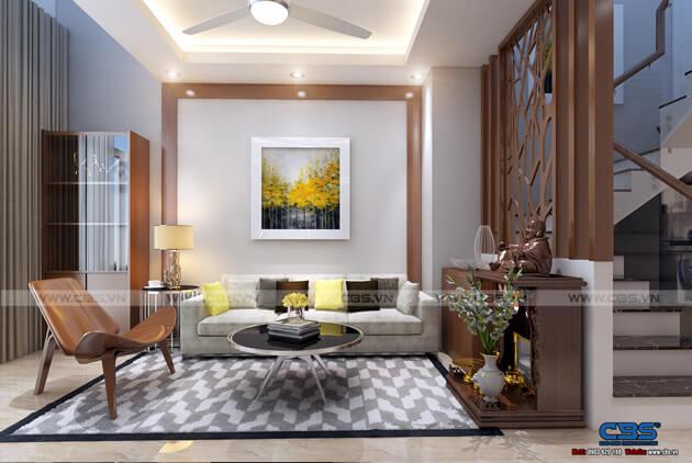 Mẫu thiết kế nhà tận dụng nội thất cũ nhưng vẫn đẹp sang 3,4m X 10m 3