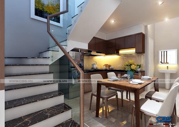 Mẫu thiết kế nhà tận dụng nội thất cũ nhưng vẫn đẹp sang 3,4m X 10m 4