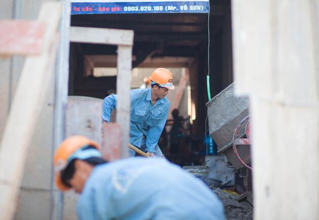 Thợ xây dựng, những con người thầm lặng! 8
