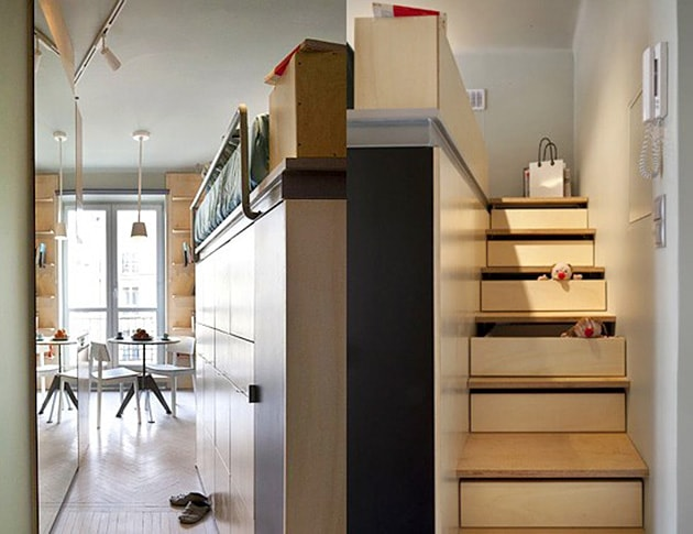 Ý tưởng tiết kiệm diện tích cho ngôi nhà nhỏ 4