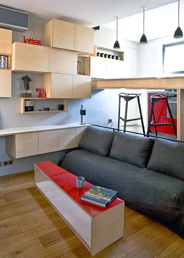Ý tưởng tiết kiệm diện tích cho ngôi nhà nhỏ 5