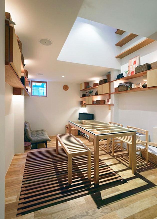 Ý tưởng tiết kiệm diện tích cho ngôi nhà nhỏ 8