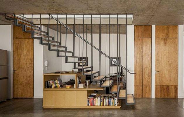 Ý tưởng tiết kiệm diện tích cho ngôi nhà nhỏ 9