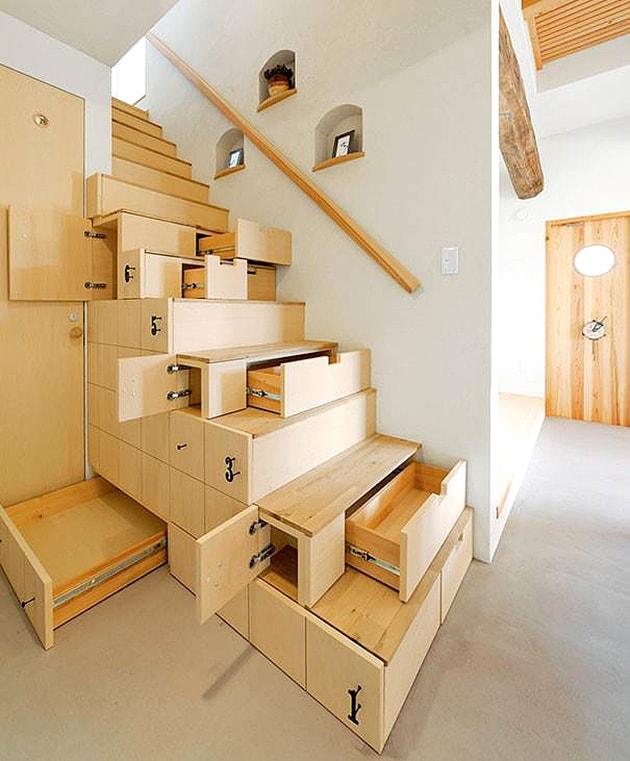 Ý tưởng tiết kiệm diện tích cho ngôi nhà nhỏ 1