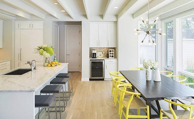 12 ý tưởng trang trí bếp ăn bằng màu vàng chanh đẹp mắt 2