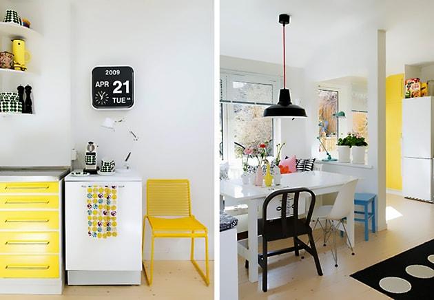 12 ý tưởng trang trí bếp ăn bằng màu vàng chanh đẹp mắt 4