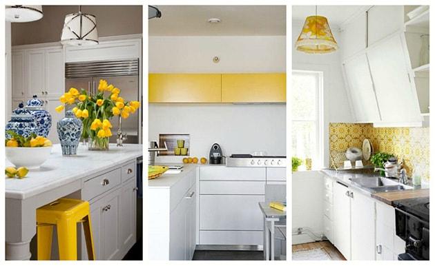 12 ý tưởng trang trí bếp ăn bằng màu vàng chanh đẹp mắt 5