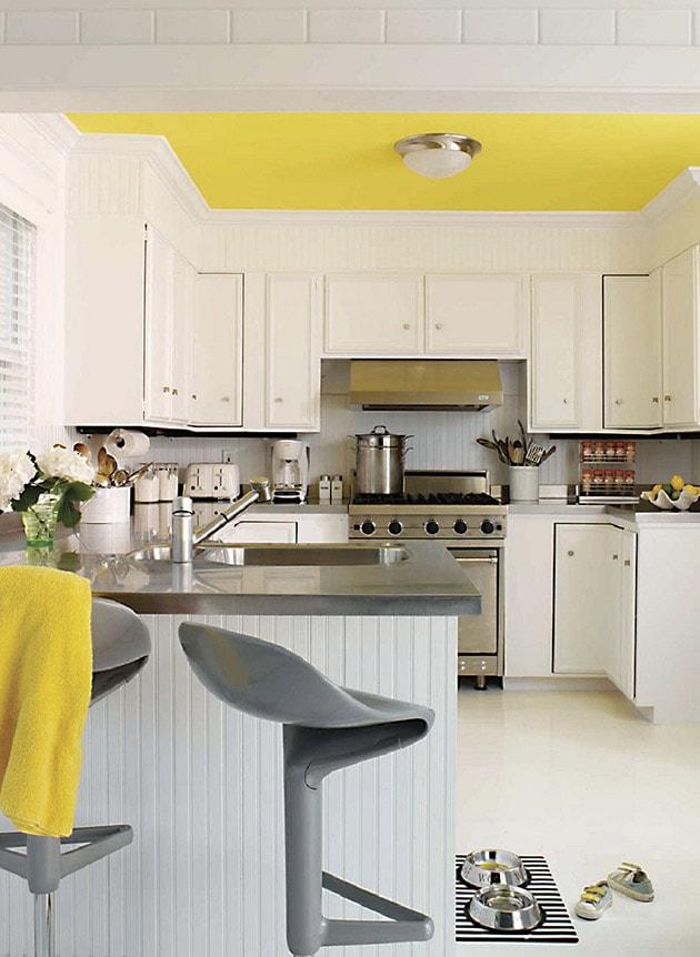 12 ý tưởng trang trí bếp ăn bằng màu vàng chanh đẹp mắt 8