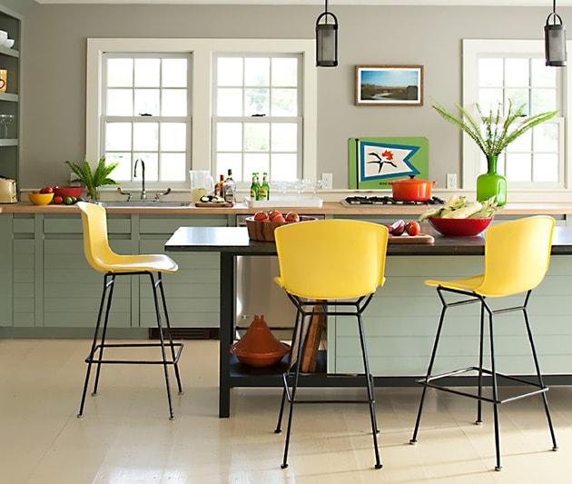 12 ý tưởng trang trí bếp ăn bằng màu vàng chanh đẹp mắt 9
