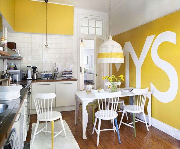 12 ý tưởng trang trí bếp ăn bằng màu vàng chanh đẹp mắt 1