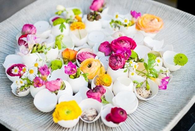 Những ý tưởng trang trí nhà bằng bình hoa hoa độc đáo 2