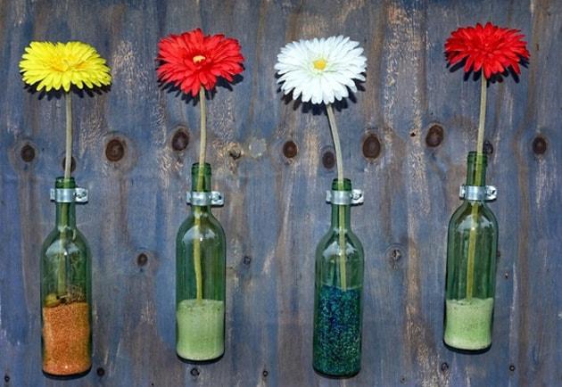 Những ý tưởng trang trí nhà bằng bình hoa hoa độc đáo 6