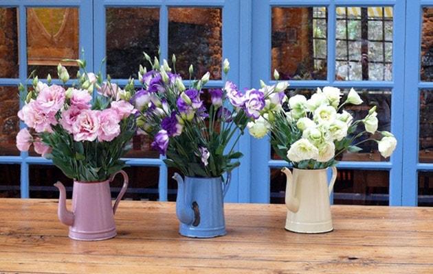 Những ý tưởng trang trí nhà bằng bình hoa hoa độc đáo 9