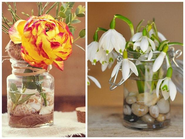 Những ý tưởng trang trí nhà bằng bình hoa hoa độc đáo 1