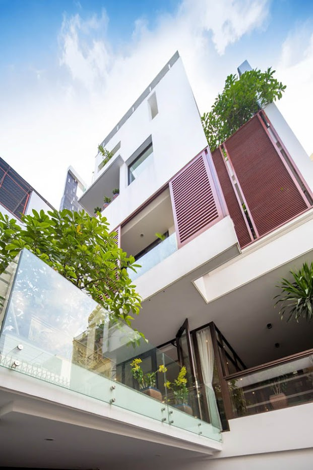 Vẻ đẹp quyến rũ của ký ức trong nhà phố hiện đại 1