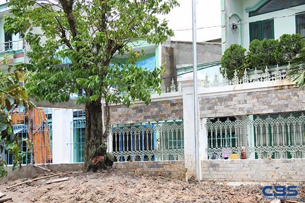 Hình ảnh thi công xây dựng biệt thự gia đình chú Tám Mẫn 10