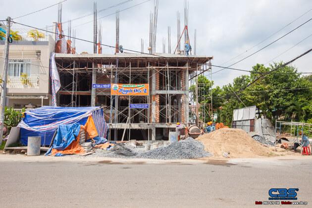 Thi công xây dựng khách sạn 8 tầng lầu tại TP. Cao Lãnh, Tỉnh Đồng Tháp 2