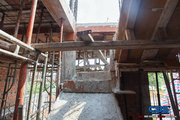 Thi công xây dựng khách sạn 8 tầng lầu tại TP. Cao Lãnh, Tỉnh Đồng Tháp 12