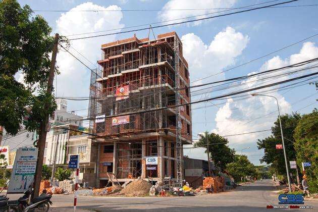 Thi công xây dựng khách sạn 8 tầng lầu tại TP. Cao Lãnh, Tỉnh Đồng Tháp 15