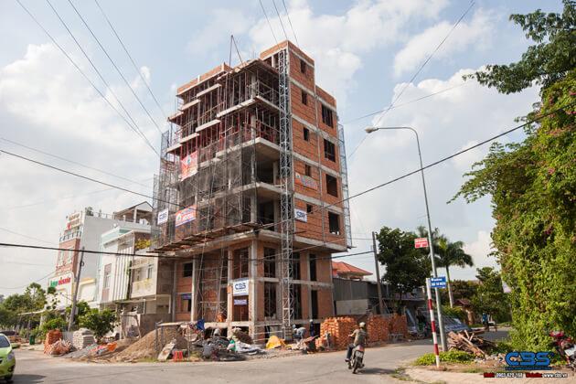 Thi công xây dựng khách sạn 8 tầng lầu tại TP. Cao Lãnh, Tỉnh Đồng Tháp 16