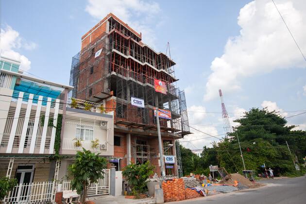 Thi công xây dựng khách sạn 8 tầng lầu tại TP. Cao Lãnh, Tỉnh Đồng Tháp 17