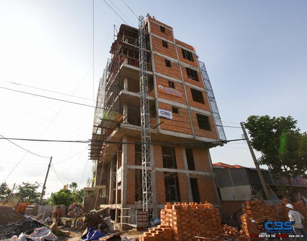 Thi công xây dựng khách sạn 8 tầng lầu tại TP. Cao Lãnh, Tỉnh Đồng Tháp 18