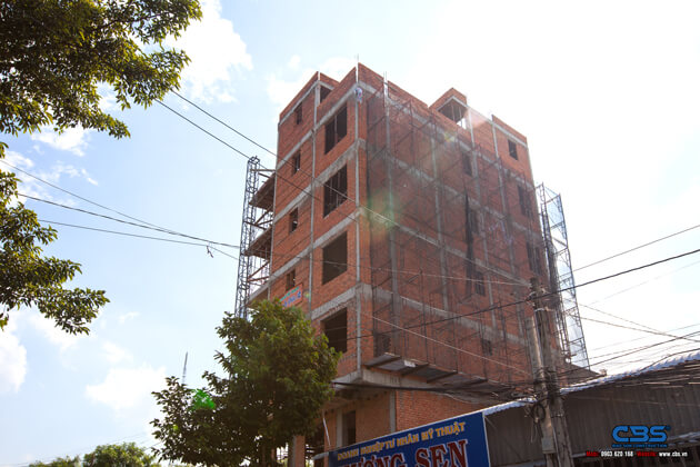 Thi công xây dựng khách sạn 8 tầng lầu tại TP. Cao Lãnh, Tỉnh Đồng Tháp 19