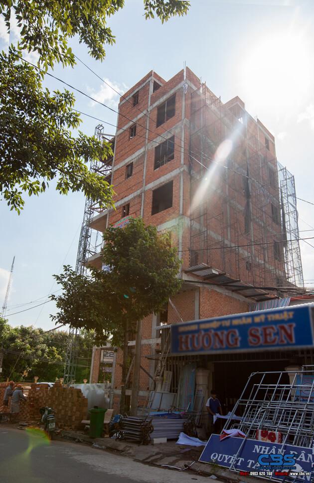 Thi công xây dựng khách sạn 8 tầng lầu tại TP. Cao Lãnh, Tỉnh Đồng Tháp 20