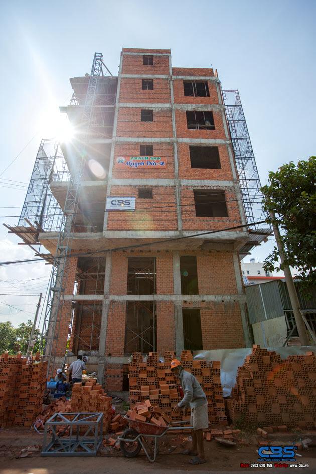 Thi công xây dựng khách sạn 8 tầng lầu tại TP. Cao Lãnh, Tỉnh Đồng Tháp 21
