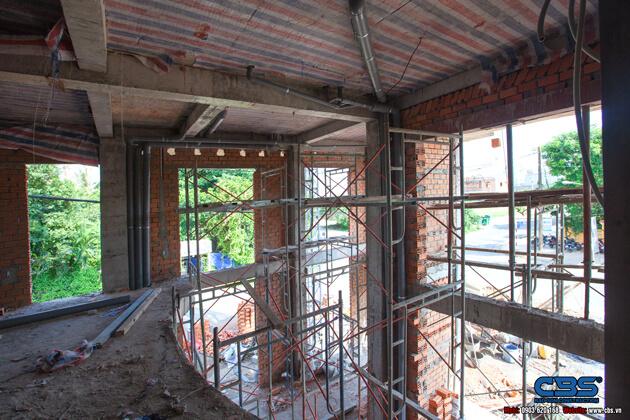 Thi công xây dựng khách sạn 8 tầng lầu tại TP. Cao Lãnh, Tỉnh Đồng Tháp 31