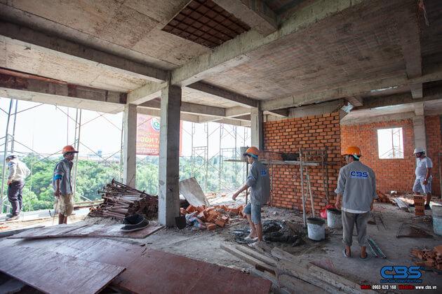 Thi công xây dựng khách sạn 8 tầng lầu tại TP. Cao Lãnh, Tỉnh Đồng Tháp 34