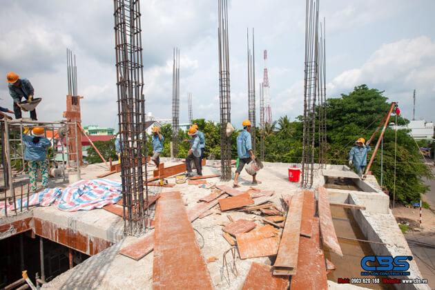 Thi công xây dựng khách sạn 8 tầng lầu tại TP. Cao Lãnh, Tỉnh Đồng Tháp 5