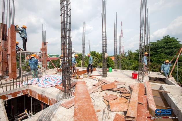 Thi công xây dựng khách sạn 8 tầng lầu tại TP. Cao Lãnh, Tỉnh Đồng Tháp 6