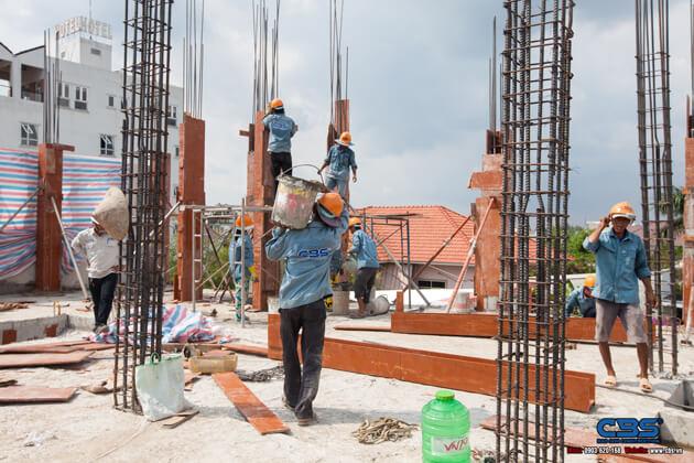 Thi công xây dựng khách sạn 8 tầng lầu tại TP. Cao Lãnh, Tỉnh Đồng Tháp 8