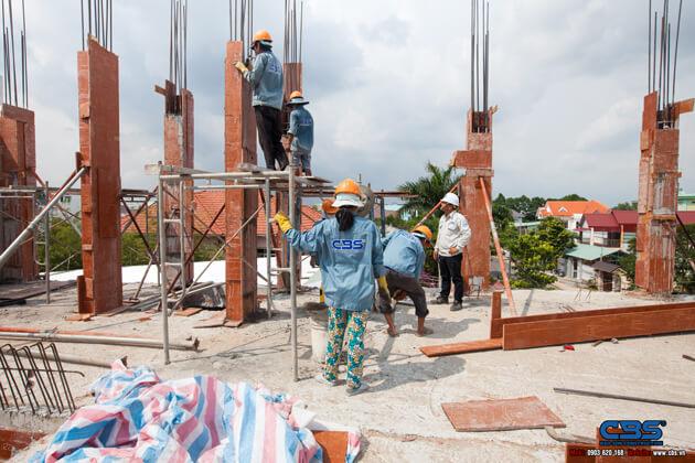 Thi công xây dựng khách sạn 8 tầng lầu tại TP. Cao Lãnh, Tỉnh Đồng Tháp 10