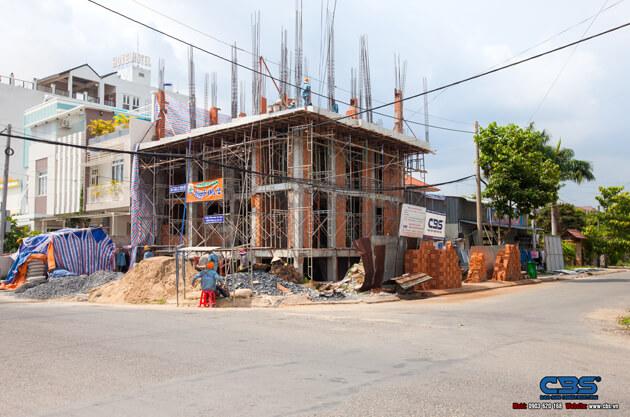 Thi công xây dựng khách sạn 8 tầng lầu tại TP. Cao Lãnh, Tỉnh Đồng Tháp 1