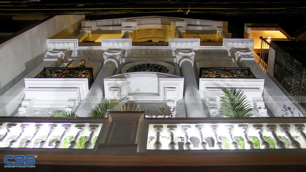 Xây dựng mới biệt thự phố cổ điển