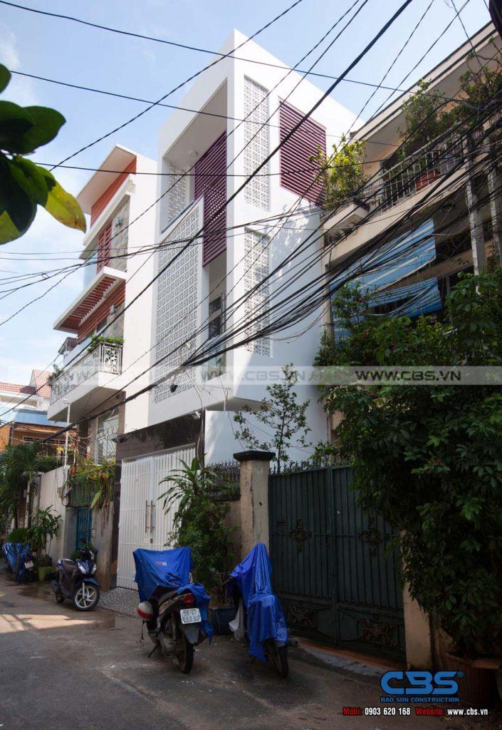 Xây dựng mới công trình nhà anh Quang