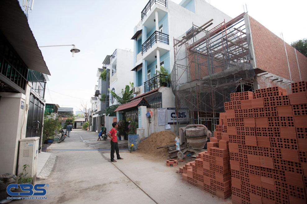 Xây dựng mới nhà anh Kha, Bình Trưng Tây, Quận 2