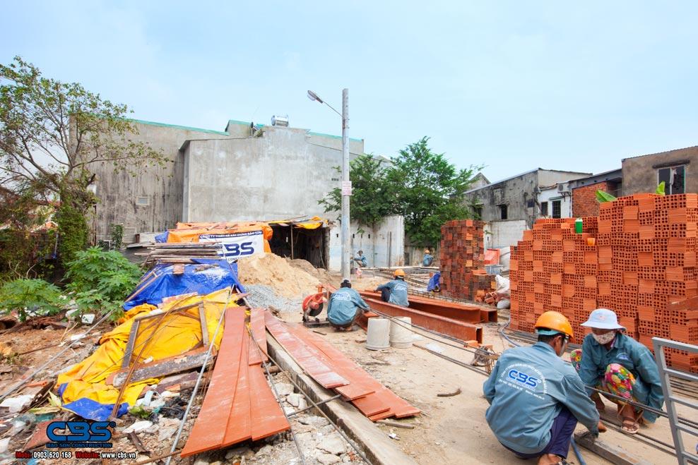 Xây dựng mới nhà anh Khanh Thủ Đức
