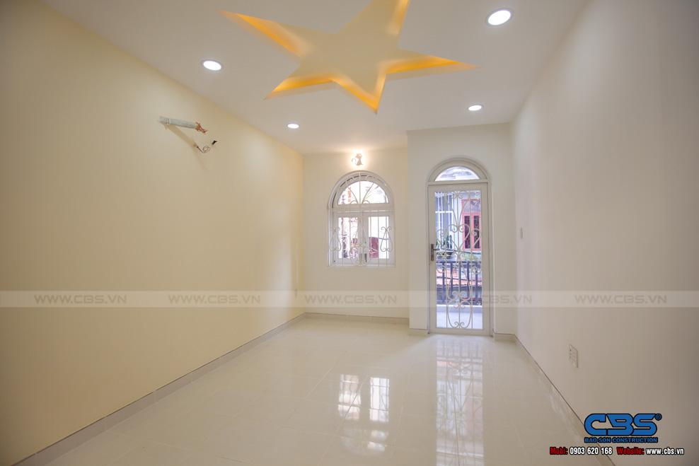 Xây dựng mới nhà anh Kiệt quận Tân Bình