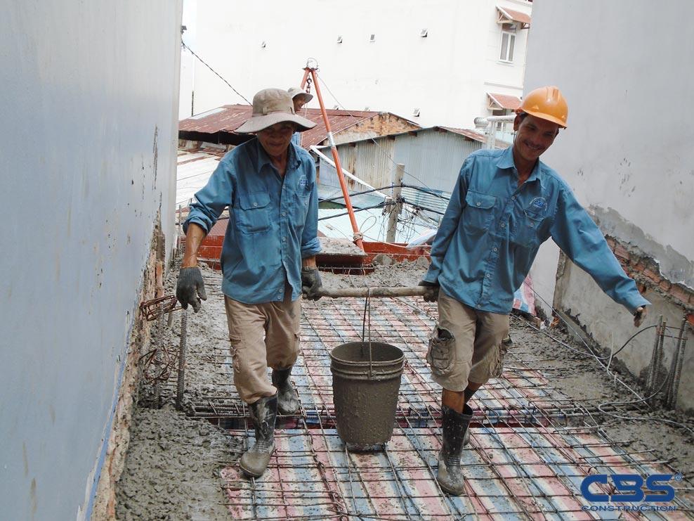 Xây dựng mới nhà anh Nhật, Lý Thường Kiệt