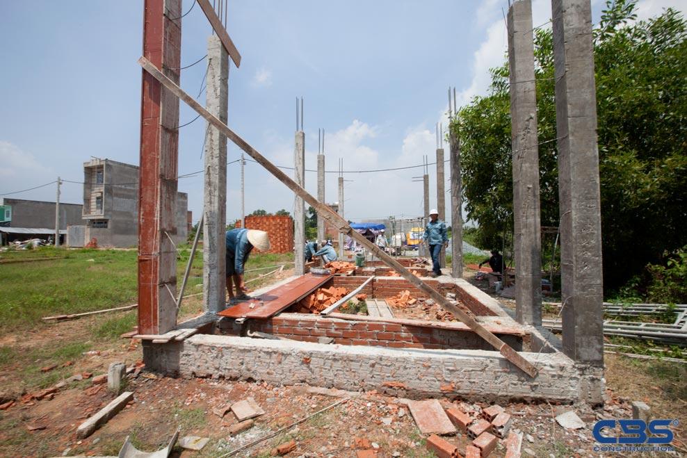 Xây dựng mới nhà anh Quân tại Quận 9