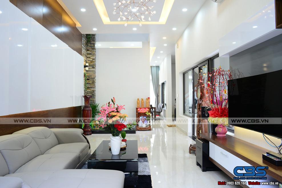 Xây dựng mới nhà anh Quốc Huyện Bình Chánh