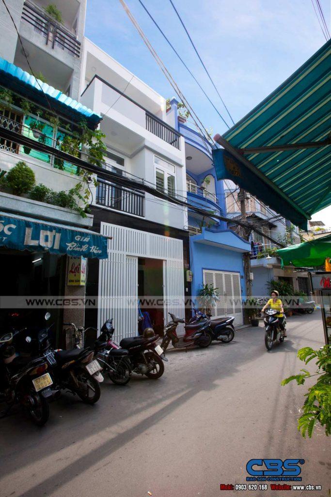 Xây dựng mới nhà ở Tân Bình